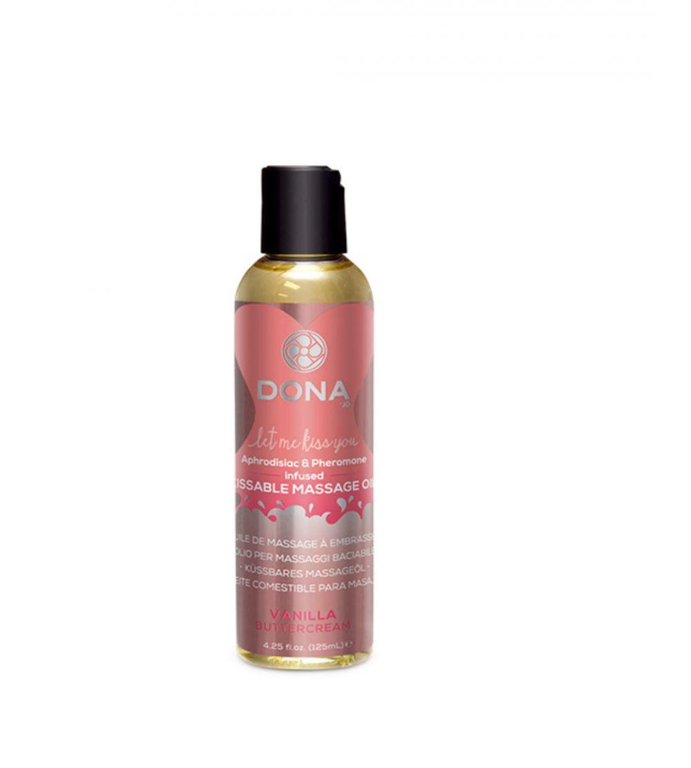 DONA kissable massage oil-vanilla