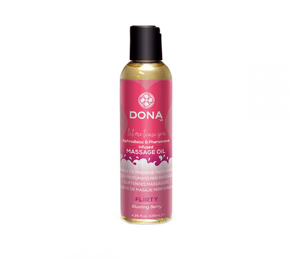 DONA scented massage oil-flirty