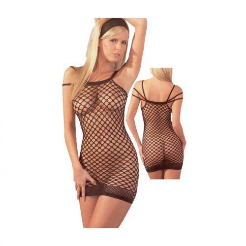 raffig-nätklänning