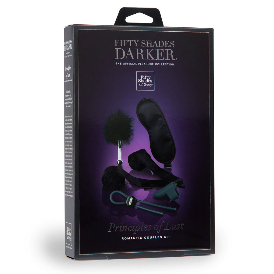 Fifty Shades Darker - Principles Of Lust - Romance Couples Kit