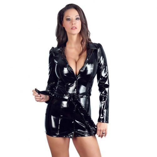 Vinyl Coat Dress