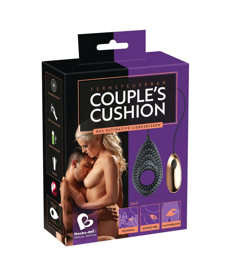 You2Toys & Rocks Off – Couples Cushion